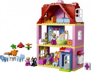 Фото конструктора LEGO Duplo Кукольный домик 10505