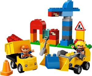 фото Конструктор LEGO Duplo Моя первая стройплощадка 10518
