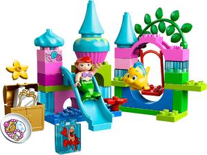 фото Конструктор LEGO Duplo Подводный замок Ариэль 10515