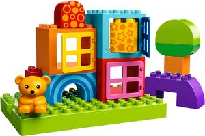 фото Конструктор LEGO Duplo Строительные блоки для игры малыша 10553