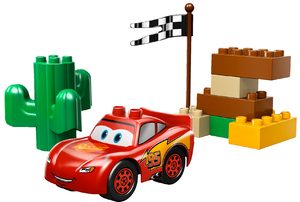 фото Конструктор LEGO Duplo Тачки МакКуин Молния 5813