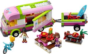 Фото конструктора LEGO Friends Оливия и домик на колесах 3184
