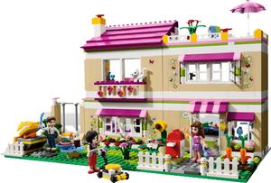 фото Конструктор LEGO Friends В гостях у Оливии 3315