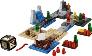 фото Конструктор LEGO Games Героика - Залив Драйда 3857