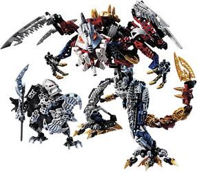 Фото конструктора LEGO Bionicle Кардас 10204