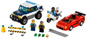 фото Конструктор LEGO City Погоня за преступниками 60007