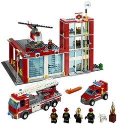 фото Конструктор LEGO City Пожарная часть 60004