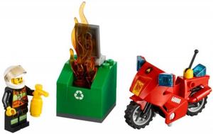 фото Конструктор LEGO City Пожарный на мотоцикле 60000