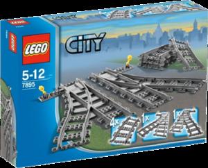 фото Конструктор LEGO City Железнодорожные стрелки 7895