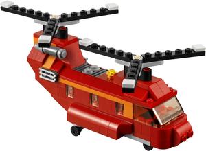 фото Конструктор LEGO Creator Грузовой вертолёт 31003