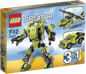 фото Конструктор LEGO Creator Крутой робот 31007