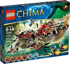 фото Конструктор LEGO Legends Of Chima Флагманский корабль Краггера 591555