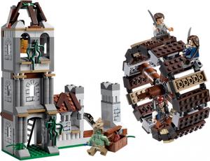 Фото конструктора LEGO Пираты Карибского моря Мельница 4183