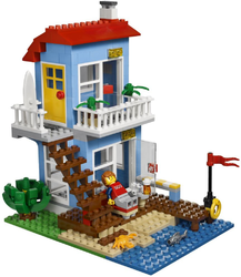 фото Конструктор LEGO Creator Дом на морском побережье 7346