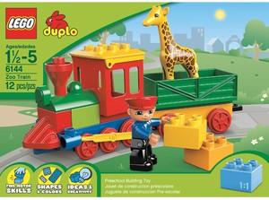 фото Конструктор LEGO Duplo Зоо-паровозик 6144