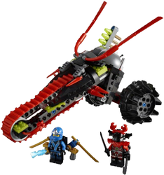 фото Конструктор LEGO Ninjago Воин на мотоцикле 70501