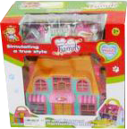 фото Домик Shantou Gepai Дом для кукол Счастливая семья 623643
