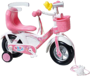 фото Zapf Creation Baby born Велосипед 816-981