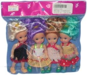 фото Говорящая игрушка Кукла Shantou Gepai 4 куклы 546580