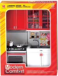фото Shantou Gepai Набор кухонной мебели с продуктами и посудой 621143