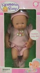 фото Кукла Shantou Gepai Новорожденная малышка 23 см 622140