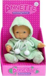 фото Говорящая игрушка Shantou Gepai Пупс Аннет в халате 621131