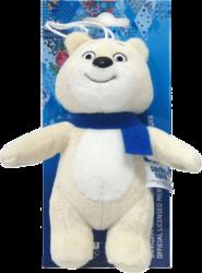 фото 1 TOY Белый Мишка с шарфом 12 см T55204