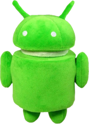 фото Мягкая игрушка Android Робот 17 см AND005