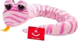 Фото Aurora Змея розовая полосатая 57 см 10-911