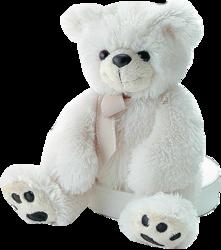 фото Мягкая игрушка Aurora Медведь кремовый 50 см 31-091