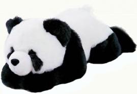 фото Мягкая игрушка Aurora Панда лежачая 79 см 63-300