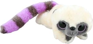 фото Мягкая игрушка Aurora Юху фиолетовый лежачий 23 см 65-602
