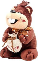 фото Мягкая игрушка Fluffy Family Бобер Весельчак 22 см 93732