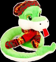 Фото Fluffy Family Змей Вася 18 см 93445