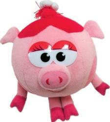 """Игрушка малая в форме известного персонажа популярного мультсериала  """"Смешарики """" - Нюша."""