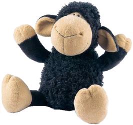 фото Мягкая игрушка NICI Овечка черная 50 см 24663