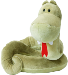 фото Мягкая игрушка NICI Змея зеленая 85 см 34631