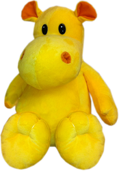 фото Plush Apple Бегемот желтый 27 см K15242A