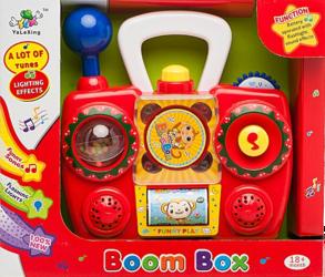 фото Музыкальная игрушка Shantou Gepai Супер магнитофон 623748