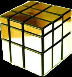 Фото кубик золотистый Эврика 90275