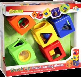 Фото KIDSMART Кубики развивающие 21580