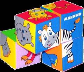 Мякиши Кубики Собери картинку Животные Африки 210 SotMarket.ru 480.000