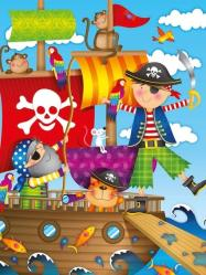 фото Пазл Ravensburger Приключения пиратов 10663