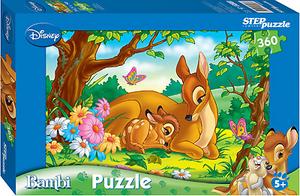 фото Пазл Step Puzzle Дисней Бемби с мамой 27764