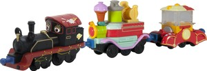 Chuggington Die-Cast LC54076 Старина Пит с двумя вагончиками SotMarket.ru 720.000