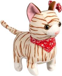 фото Говорящая игрушка Fluffy Family Кот Полосатик 16 см 68723