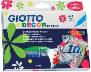 фото Фломастеры GIOTTO Decor Textile 494800