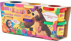 Краски Маша и Медведь 6 цветов 22015 SotMarket.ru 320.000