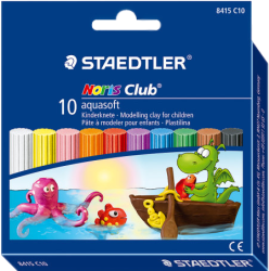 фото Пластилин STAEDTLER Noris Club Aquasoft 8415 C10