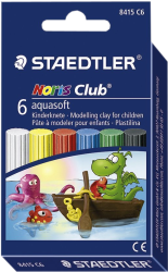 фото Пластилин STAEDTLER Noris Club Aquasoft 8415 C6